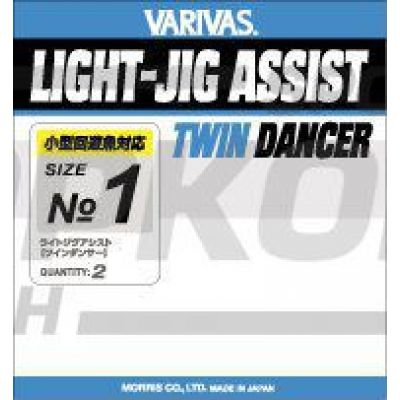 Крючки VARIVAS Light Jig Assist, Twin Dancer 1/2 (х4)