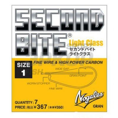 Крючки Varivas Nogales Second Bite Light Class 1/7 (х5)